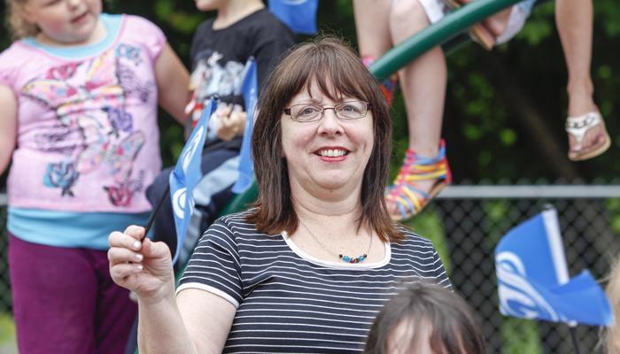 Gaelic bursary recipient Joanie MacDonald, New Glasgow.